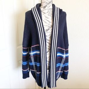 Urban Outfitters Oversized Hooded Cardigan Size S